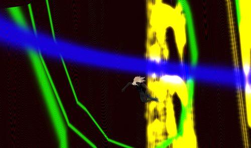 3. je tombe dans un puit de lumière