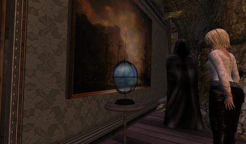 un globe vivant