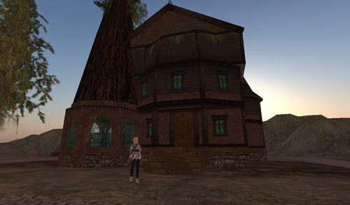 la maison dans l'arbre ou l'arbre dans la maison
