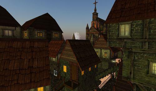 un village médiéval