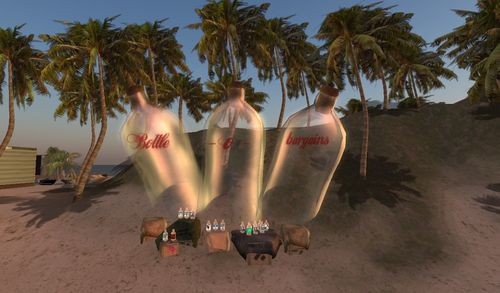des bouteilles à la mer