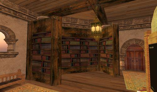 une magnifique bibliothèque