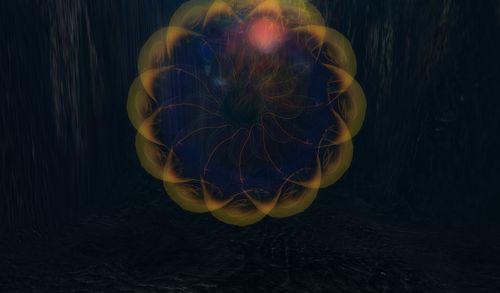 une nébuleuse, une méduse, une illusion